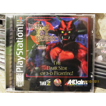 Advanced Dungeons & Dragons Iron And Blood Playstation Lbf