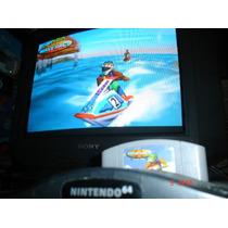 Nintendo 64 Wave Race 64 Carreras Motos Acuaticas