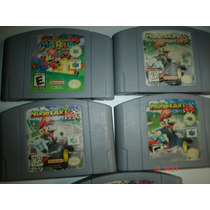 Nintendo 64 Super Mario 64 Y Super Mario Kart