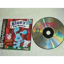 Blue´s Big Musical Pistas De Blue Para Ps1 Y Ps2