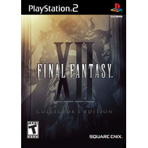 Final Fantasy Xii Collector´s Edition Ps2final Fantasy Xii