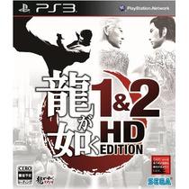 Yakuza 1&2 Hd Edition Ps3 Japones