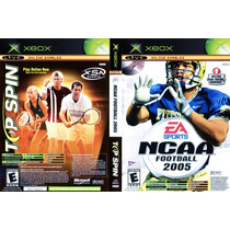 Top Spin/ Ncaa Football 2005 Xbox Seminuevo