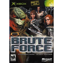 Brute Force Xbox Videojuego Seminuevo Excelente Estado