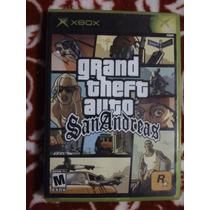 Grand Theft Auto San Andreas Xbox