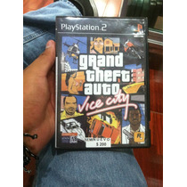 Grand Theft Auto Vice City Seminuevo Ps2 En Igamers