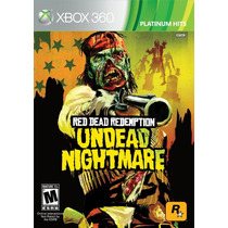 Red Dead Redemption Undead Nightmare Xbox 360 Nuevo