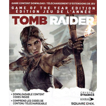 Xbox 360 - Dlc Goty Tomb Raider (acepto Mercado Pago Y Oxxo)