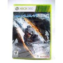 G0372 Xbox 360 Videojuego Videogame Metalgear Rising