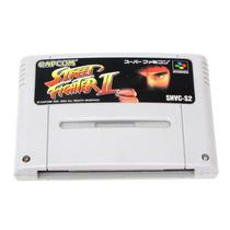 Street Fighter 2 Super Nintendo Japones