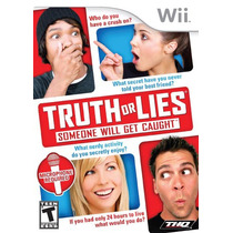 Juego Wii Truth Lies: Someone Will Get Caught!