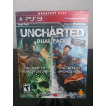Uncharted Dual Pack Ps3 Nuevo Citygame