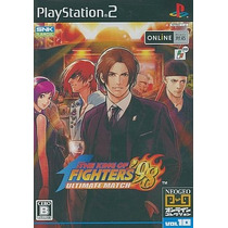 The King Of Fighters 98 Ultimate Match Ps2 Japones