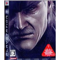 Metal Gear Solid 4 Guns Of Patriots Normal Ps3 Japonesa