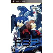 Persona 3 Portable Psp Japonesa