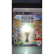 Fifa Southafrica Playstation 3. ( Nuevo ) $ 299.99 Mn