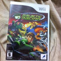Remate Ben 10 Galactic Racing Nuevo Y Sellado Wii