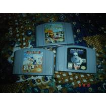 Nintendo 64-star Wars Shadow Of The Empire,rogue Squadron,