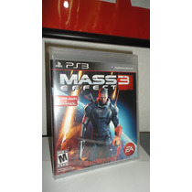 Mass Effect 3 Nuevo Y Sellado Ps3 Play Station 3