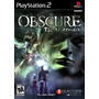 Obscure The Afthermath Ps2