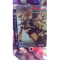 Metal Gear Solid 4 Limited Edition Ps3