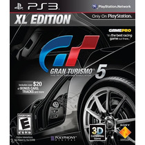 Gran Turismo 5 Xl Edition Ps3 Nuevo De Fabrica Citygame