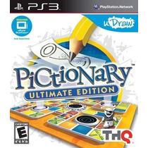 Pictionary Ultimate Edition Ps3 Nuevo De Fabrica Citygame