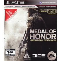 Medal Of Honor Limited Ps3 Nuevo De Fabrica