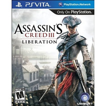 Assassins Creed Iii Liberation Ps Vita Nuevo Citygame