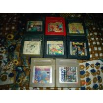 Game Boy Paquete De Juegos 6(pokemon,mario,bomberman,tetris)
