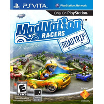 Modnation Racers Road Trip Ps Vita Nuevo De Fabrica Citygame