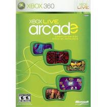 Xbox Live Arcade Disco De Antologia Xbox 360 Blakhelmet E D