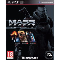 Mass Effect Trilogy - Ps3 (físico) Fgk Msi