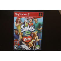 The Sims 2 Pets Para Playstation 2 Completo.
