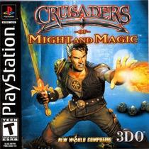 Crusaders Of Might Magic Para Playstation 1 Solo Disco
