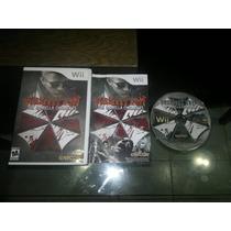 Resident Evil The Umbrella Chronicles Completo Nintendo Wii