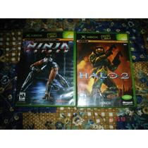 X-box Halo 2 Y Ninja Gaiden