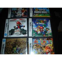Paquete De 6 Juegos Para Nintendo Ds Zelda,castlevania,mario