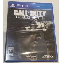 Call Of Duty Ghost Ps4 Disco Nuevo Sellado Con Su Celofán
