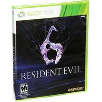 Resident Evil 6 Para Xbox 360 Nuevo Y Sellado Videojuego