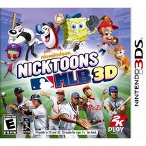 Nicktoons Mlb 3d 3ds Nuevo De Fabrica Citygame