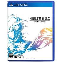 Final Fantasy 10 Hd Remaster Ps Vita Japonesa