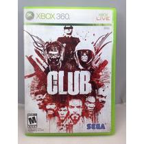 G0265 Xbox 360 Videojuego Videogame The Club Usado
