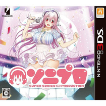 Super Sonico In Production Nintendo 3ds Japonesa