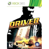 Driver San Francisco Para Xbox 360 Usado Blakhelmet R E