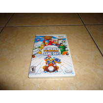 Disney Club Penguin Game Day Nintendo Wii + Completo +++