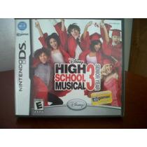 Nintendo Ds Disney High School Musical, Seminuevo, Original