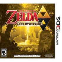 Zelda A Link Between Worlds 3ds Nuevo Citygame