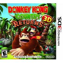 Donkey Kong Country Returns 3d Nuevo De Fabrica Citygame