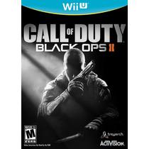 Call Of Duty Black Ops 2 Nintendo Wii U Nuevo Blakhelmet D E